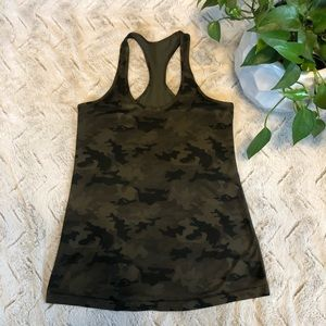 Lululemon Cool Racerback in Camo